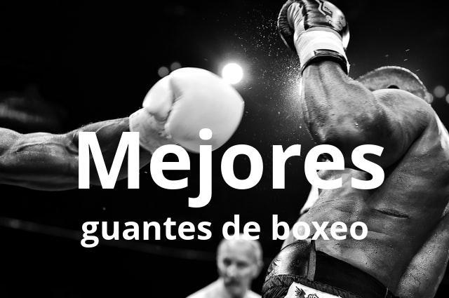 Los mejores guantes de boxeo del mercado en 2021 1