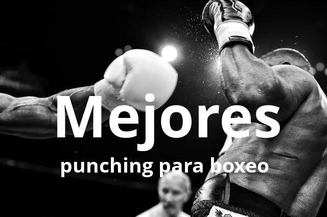 Los mejores punching para boxeo del mercado en 2021 1